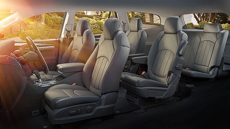 The all new 2015 buick enclave richmond drives vehicle features for Buick enclave interior pictures