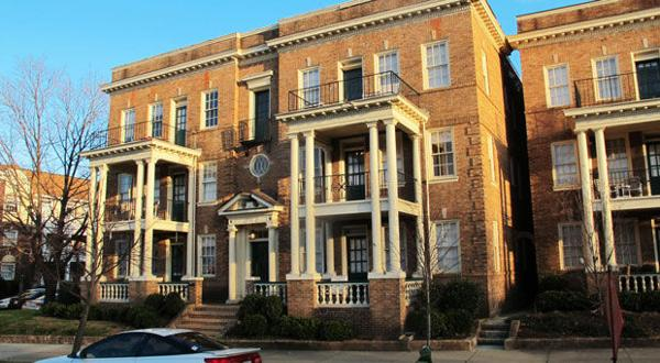 <p>This apartment building at 711 N. Boulevard in Richmond was one of the properties sold at auction on Jan 6, 2015. The apartment building had been owned by Billy Jefferson Jr.</p>