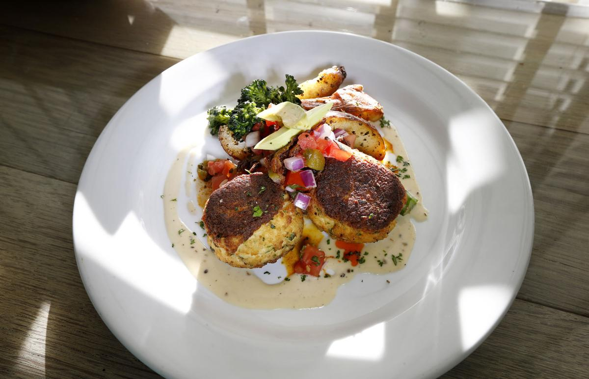 Restaurant review shoredog caf is a casual cottagey for Alexa cuisine catering