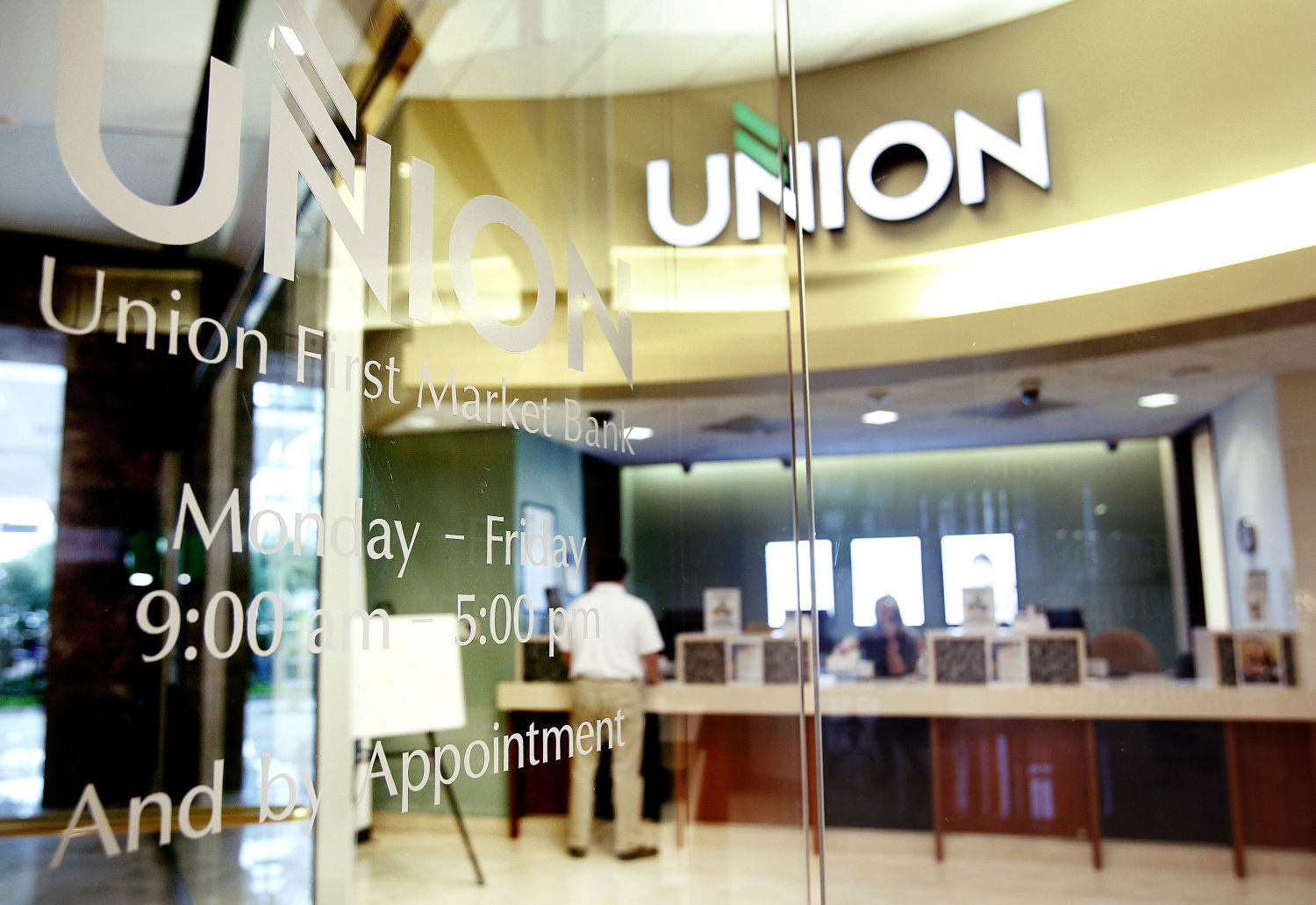 Union Bank to close seven branches, including two in Richmond area ...