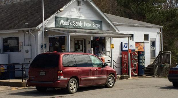 <p>Wood's Sandy Hook Store on U.S. 522 is at the heart of the Sandy Hook community in Goochland County.</p>