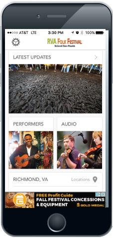 Download the RVA Folk Festival mobile app