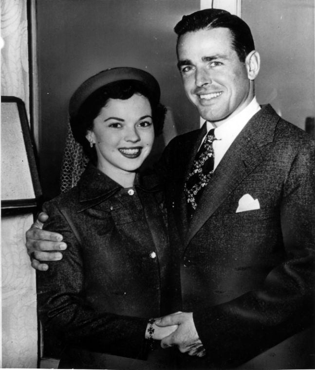 Shirley Temple and hus...