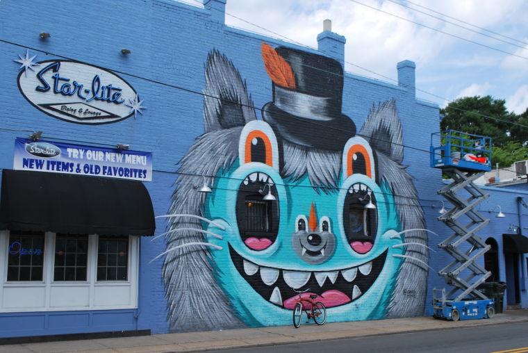 photos richmond murals photos On 100 mural street richmond hill