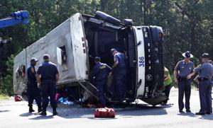 Caroline bus wreck