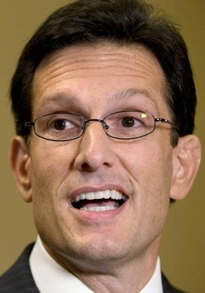 House debates 'cliff' measure; Cantor voices early opposition
