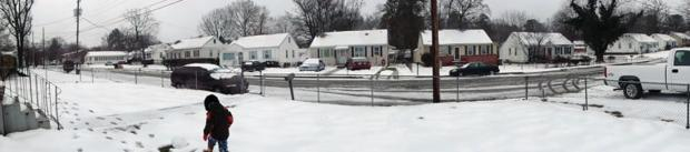 Our street, panoramic view style