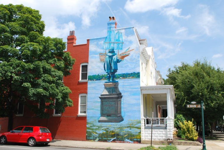 Map of richmond murals discover richmond for City mural projects