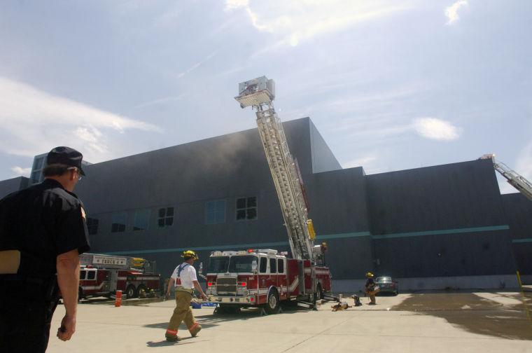 Richmond Times-Dispatch printing plant fire, 2007