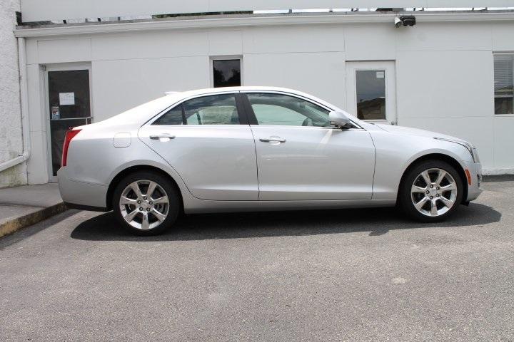 2015 Radiant Silver Metallic Cadillac Ats Roanoke Times