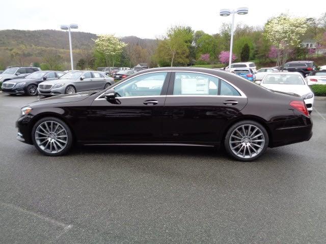 2015 ruby black mercedes benz s class sedans for Roanoke mercedes benz dealerships