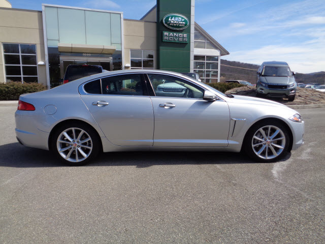 2015 Rhodium silver Jaguar XF - Roanoke Times: Sedan