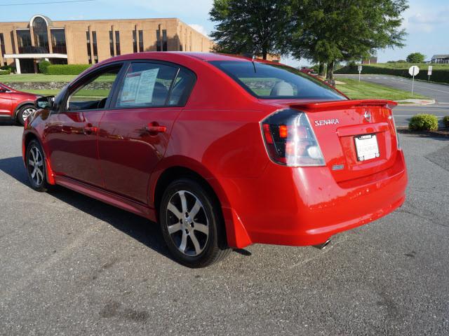 2012 Red Nissan Sentra Sedans Roanoke Com