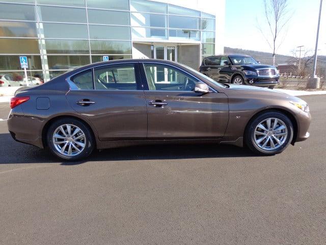 2014 Chestnut bronze Infiniti Q50 - Roanoke Times: Sedan