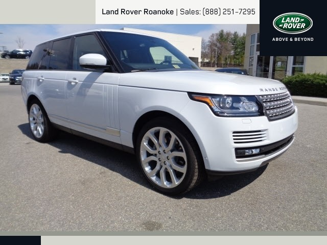 Berglund Chevrolet Roanoke 2015 Yulong white Land Rover Range Rover - Roanoke Times: Suv