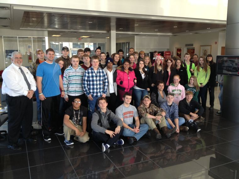 Eastmont Drivers Ed Students Visit Shelor Motor Mile