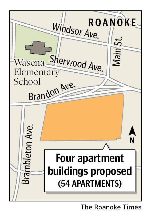 Proposed apartment complex on brandon avenue stirs for Apartment complex map maker