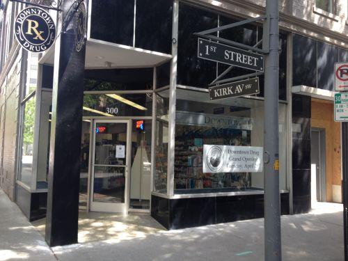 Storefront new pharmacy is opening up in downtown roanoke for Opening a storefront business