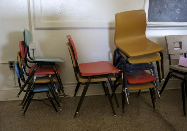 Bring Your Own Muscles To Pick Up Free Furniture At Old William Byrd School Next Weekend