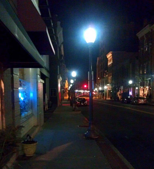 Guest Post Unhappy With New 39 Blue 39 Street Lights Downtown