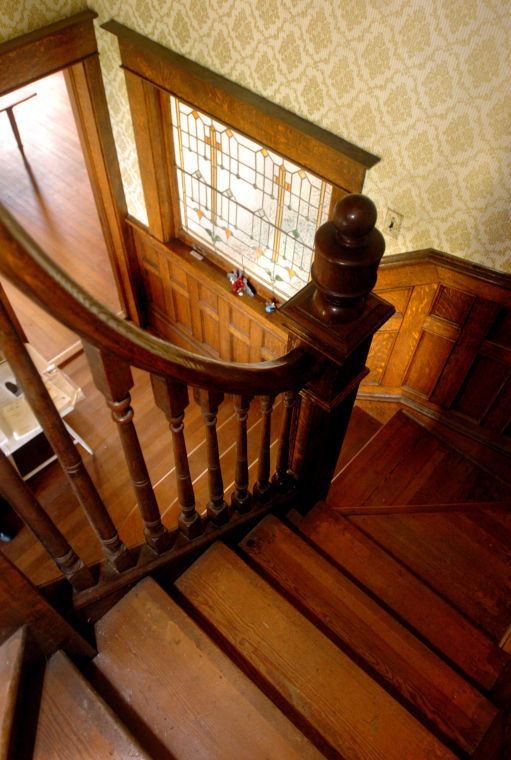 J. Sidna Allen Home Staircase