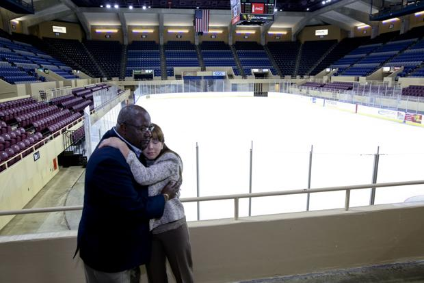 Berglund Center Unveils Renovations Roanoke Times Photo