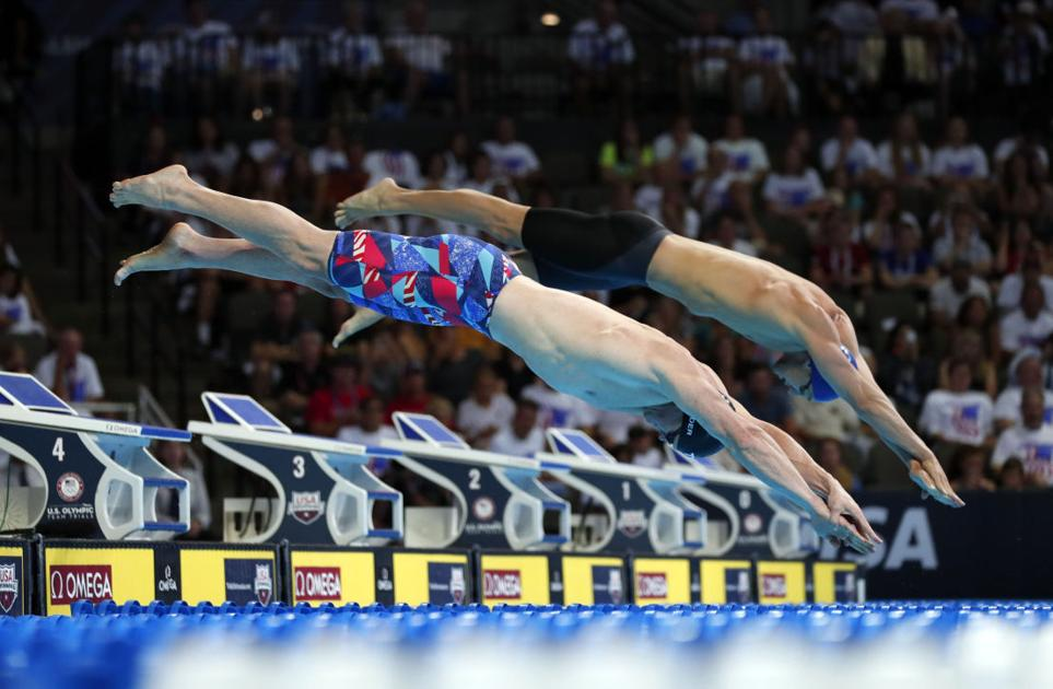 U S Olympic Swimming Trials Leave Copeland Proud But Disappointed Roanoke Times Colleges