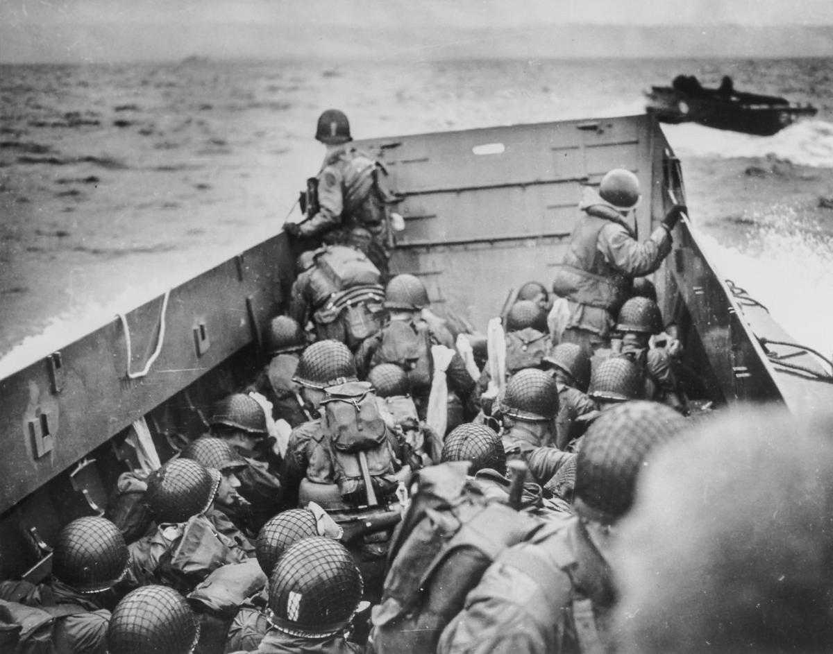 D Day Invasion D-Day: Allied invasion...