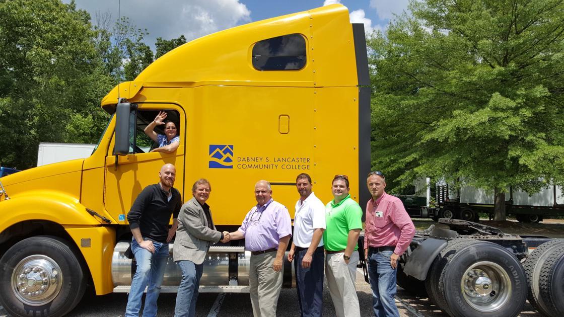 Garten Trucking Makes Equipment Donation To Dslcc