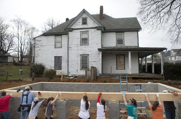 Habitat For Humanity Build In Roanoke Roanoke Times Photo