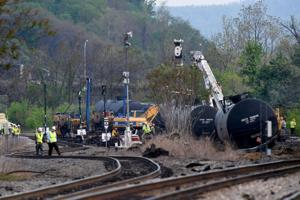 Train Derailment Cleanup
