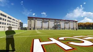 Virginia Tech indoor facility 1