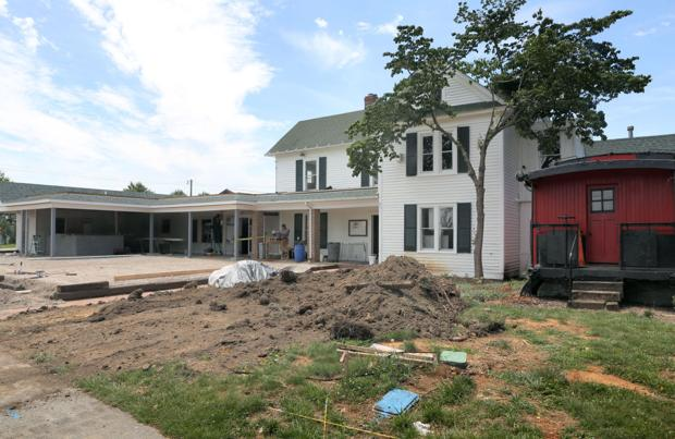 The Farmhouse prepares for August reopening Roanoke Times Christiansburg News