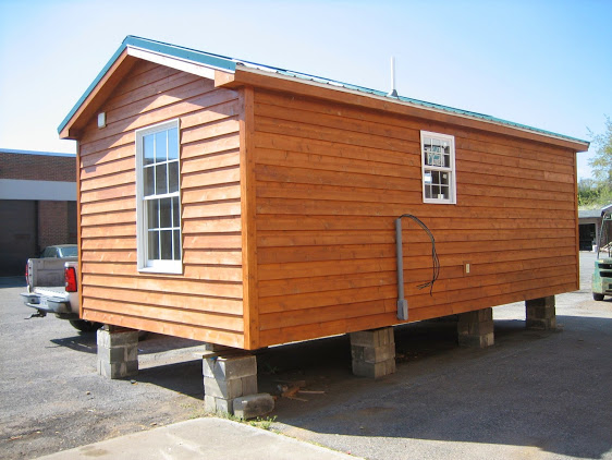 Ed foundation hosts tiny house open house at lbhs on may for Tiny house on foundation