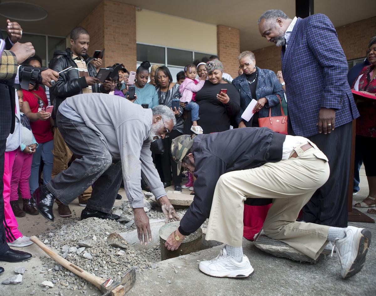 Time capsule from 1967 unearthed at former terrace theater for Terrace theater movie times