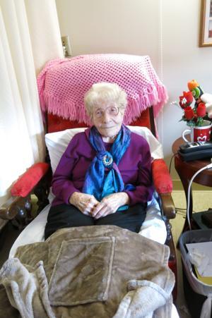 Carrington place resident hazel hager turned 106 on feb. 2 ...