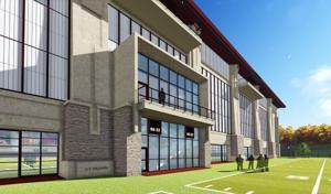 Virginia Tech indoor facility 3