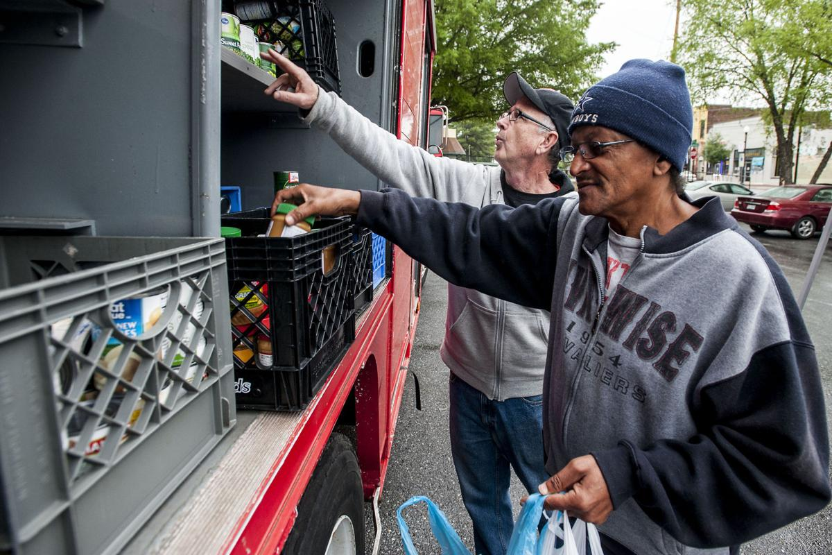 Grocery truck aims to serve residents in food desert