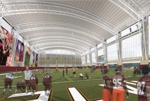 Virginia Tech indoor facility 4