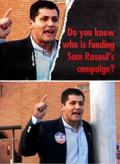 Anti rasoul campaign flyers used her pics roanoke times blogs - Valerie garnering ...
