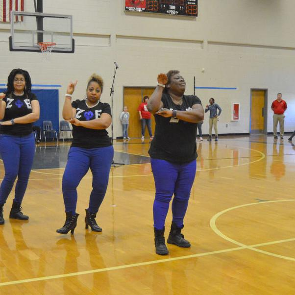 Veterans Memorial hosts step show for Black History Month