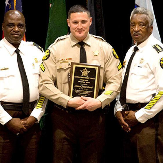 Newton County Sheriff's Office Awards Ceremony