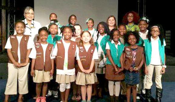 Rockdale Girl Scouts 'bridge' to new levels | Scrapbook ...