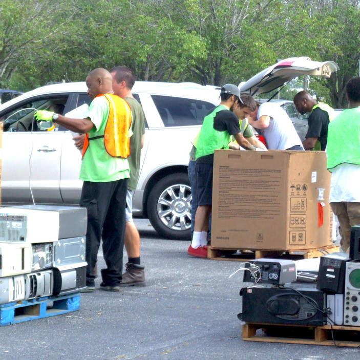 Keep Conyers-Rockdale Beautiful e-recycling/shredding event is popular