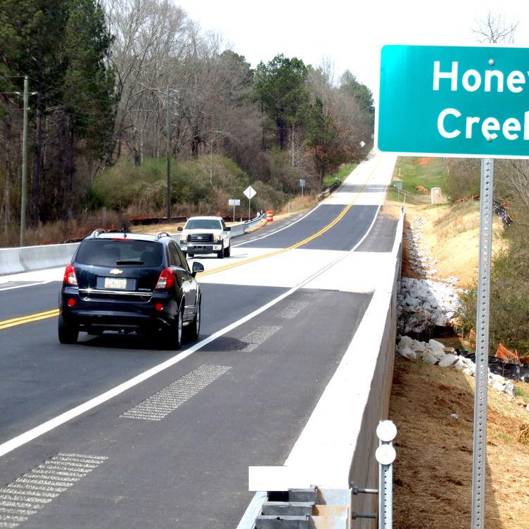 Ga. Highway 212 Bridge Opens
