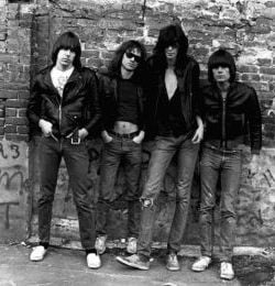 <p>The Ramones: from left, Johnny, Tommy, Joey, and Dee Dee</p>