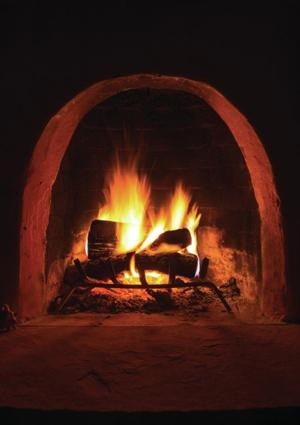 Caveman TV brings warmth, fragrance and solace on a winter night