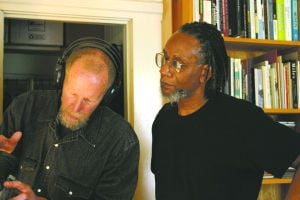 Allan Graham and Nathaniel Mackey