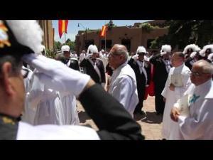 Procession preceding the installation of a new archbishop