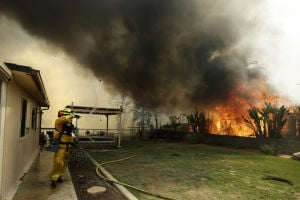 1st of major San Diego-area fires accidental